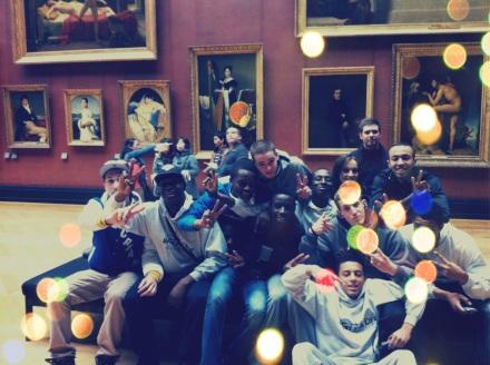 L'académie des talents au musée du Louvre